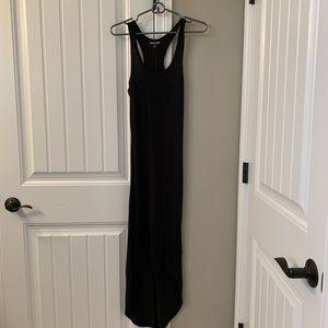NWOT XS Volcom Maxi dress black